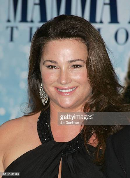 Journalist Keely Shaye Smith attends the premiere of Mamma Mia at the Ziegfeld Theatre on July 16 2008 in New York City