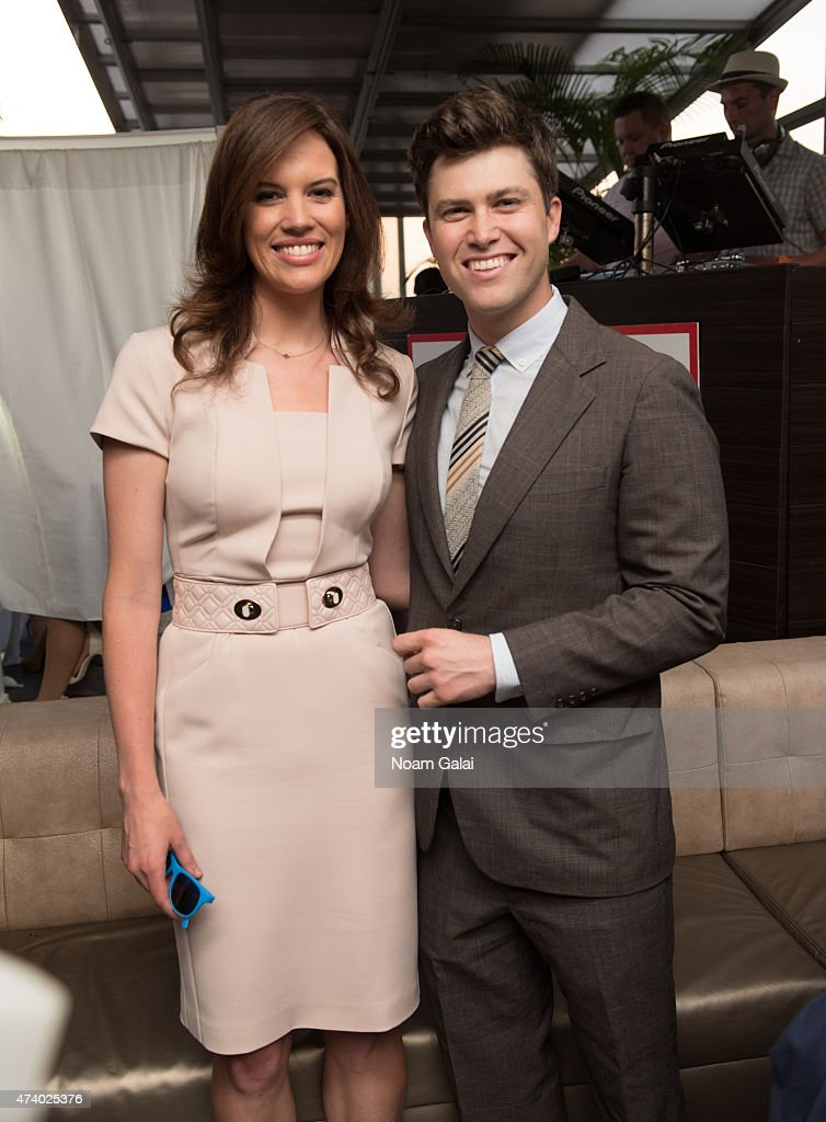 Journalist Kelly Evans And Actor Colin Jost Attend The 3rd Annual New News Photo Getty Images