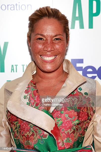 TV journalist Kemberly Richardson attends the 10th annual Ailey at the Apollo at The Apollo Theater on May 8 2012 in New York City