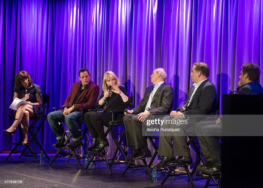 2015 Los Angeles Film Festival - Steed Symposium : News Photo