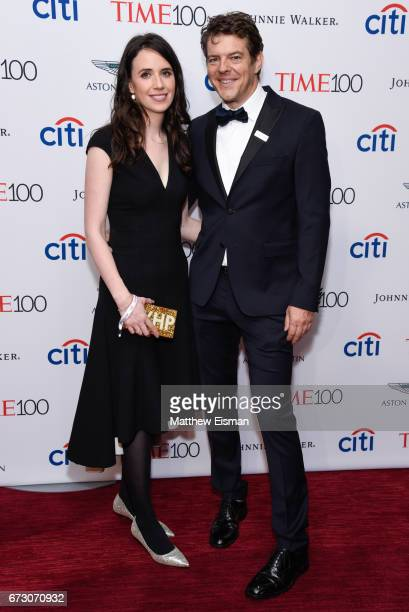 Journalist Lauren Schuker and film producer Jason Blum attend 2017 Time 100 Gala at Frederick P Rose Hall Jazz at Lincoln Center on April 25 2017 in...
