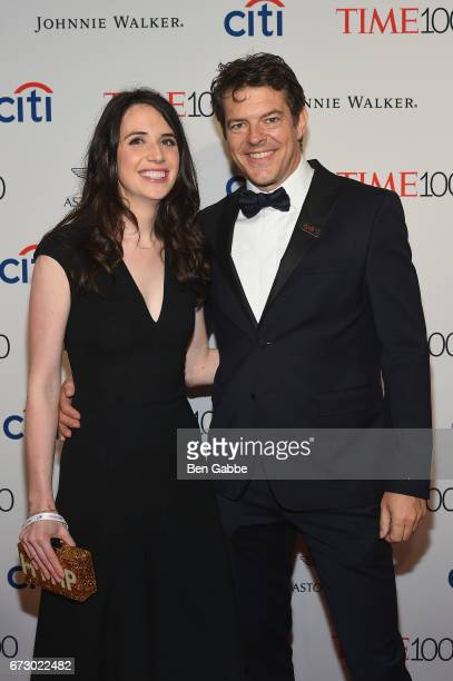 Journalist Lauren Schuker and film producer Jason Blum attend the 2017 Time 100 Gala at Jazz at Lincoln Center on April 25 2017 in New York City