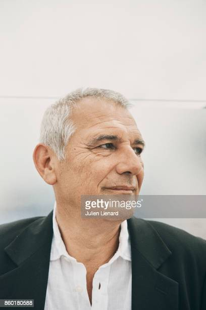 Journalist Laurent Cantet is photographed for Self Assignment on May 22 2017 in Cannes France