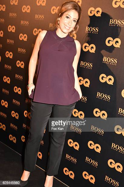 TV journalist Lea Salame attends GQ Men Of The Year Awards at Musee d'Orsay on November 23 2016 in Paris France