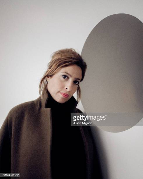 Journalist Lea Salame is photographed for Self Assignment on January 2017 in Paris France