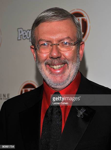 Journalist Leonard Maltin arrives at the 13th Annual Entertainment Tonight and People Magazine Emmys After Party at the Vibiana on September 20, 2009...