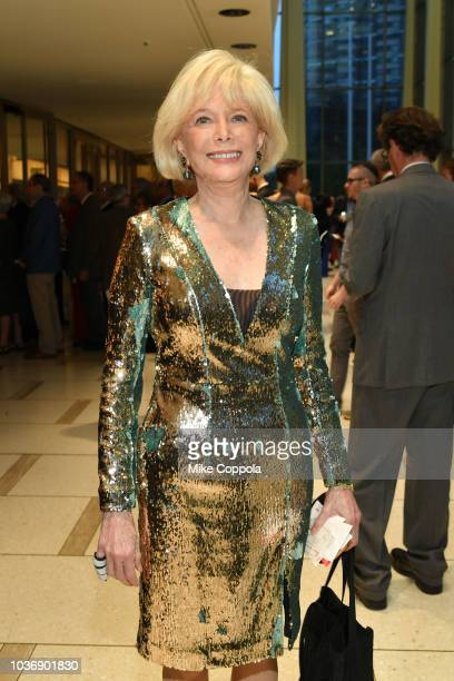 Journalist Lesley Stahl attends the New York Philharmonic's Opening Gala New York Meet Jaap at David Geffen Hall on September 20 2018 in New York City