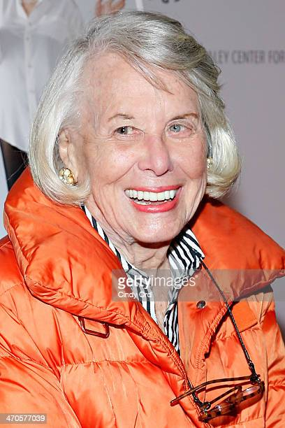 Journalist Liz Smith attends the Elaine Stritch Shoot Me screening at Paley Center For Media on February 19 2014 in New York City
