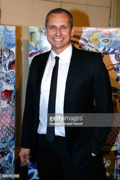 Journalist Louis Laforge attends the Enfance Majuscule 2017 Charity Gala for the benefit of abused childhood Held at Salle Gaveau on March 20 2017 in...