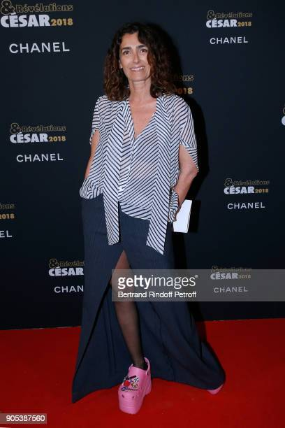 Journalist Mademoiselle Agnes Boulard attends the 'Cesar Revelations 2018' Party at Le Petit Palais on January 15 2018 in Paris France