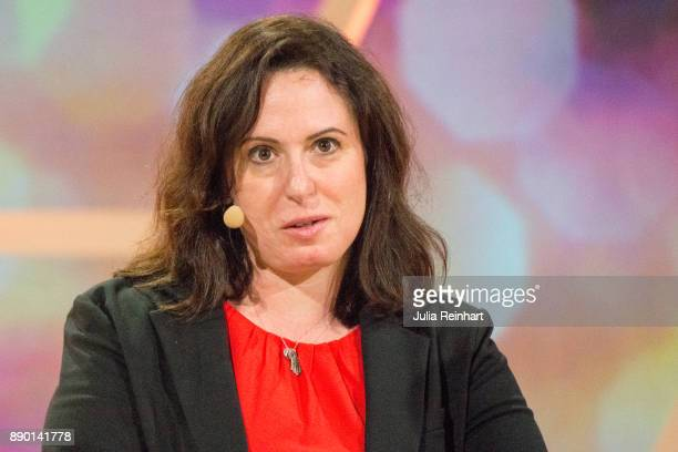 Journalist Maggie Haberman White House correspondent for the New York Times speaks at 'Nobel Week Dialogue the Future of Truth' conference at at...