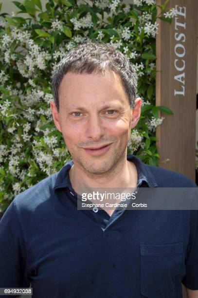 Journalist MarcOlivier Fogiel attends the Men Final of the 2017 French Tennis Open Day Fifteen at Roland Garros on June 11 2017 in Paris France