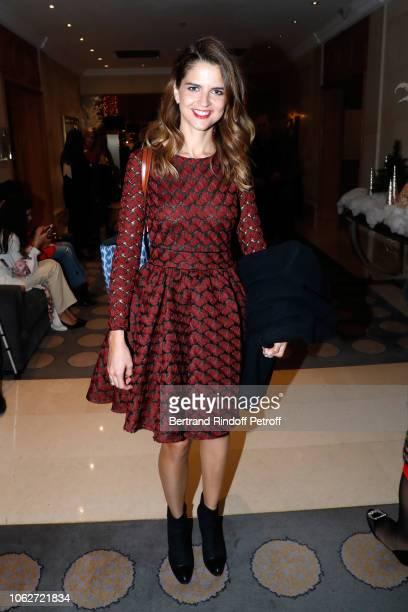 Journalist Margaux de Frouville attends the Sauvez le Coeur des Femmes Red Defile Show at Hotel Marriot on November 16 2018 in Paris France