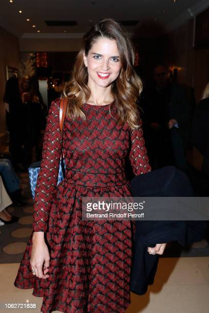 Journalist Margaux de Frouville attends the Sauvez le Coeur des Femmes Red Defile Show at Hotel Marriot on November 16 2018 in Paris France