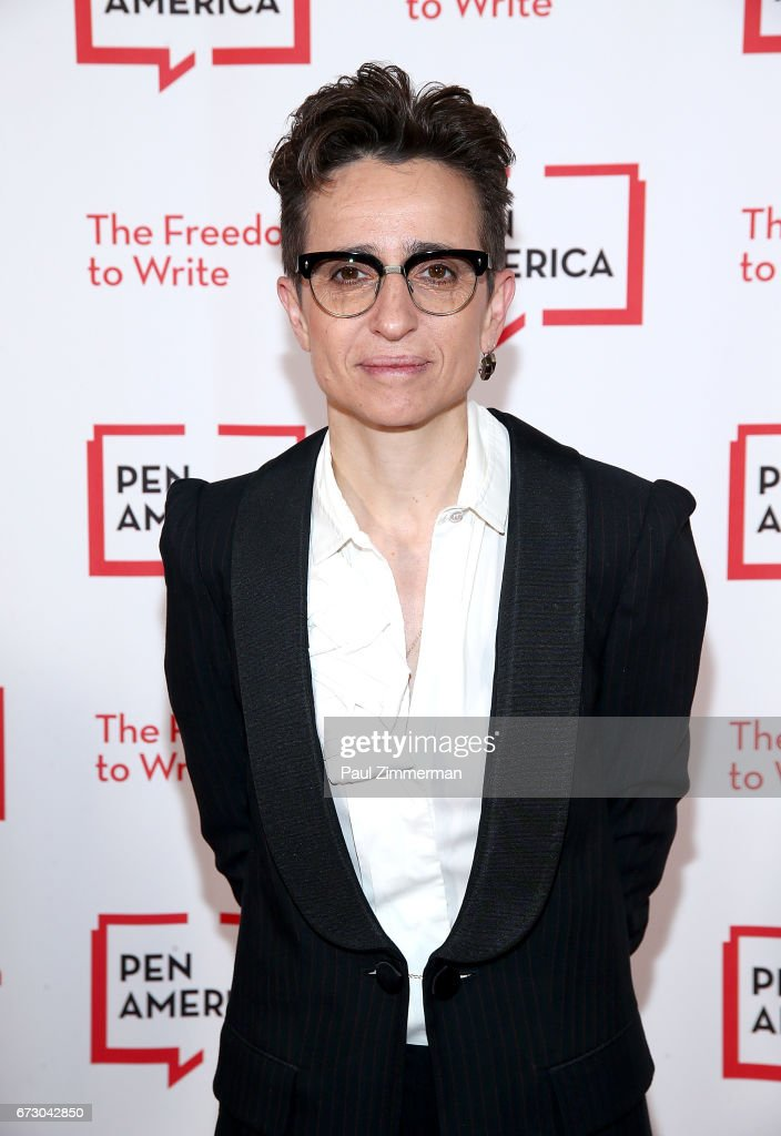 Journalist Maria Alexandrova 'Masha' Gessen attends PEN America's 2017 Literary Gala Red Carpet at American Museum of Natural History on April 25, 2017 in New York City.