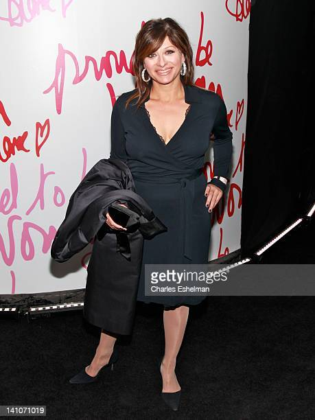 TV journalist Maria Bartiromo attends the 3rd annual Diane Von Furstenberg awards at the United Nations on March 9 2012 in New York City