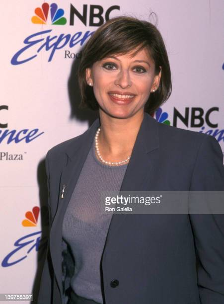 Journalist Maria Bartiromo attends the grand opening of the NBC Company Store on May 13 1999 in New York City