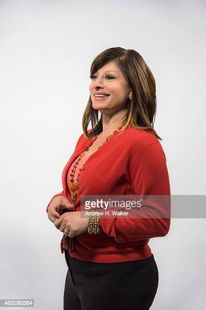 Journalist Maria Bartiromo is photographed for Variety on May 8 2014 in New York City PUBLISHED IMAGE
