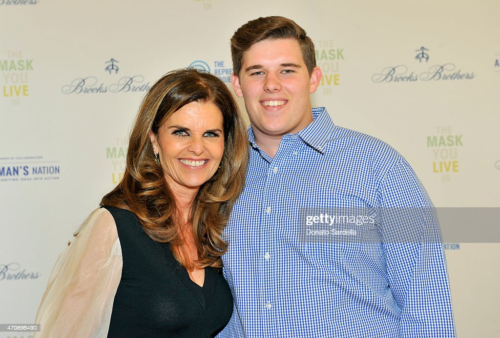 "BROOKS BROTHERS Presents ""The Mask You Live In"" Los Angeles Movie Premiere, Hosted By Filmmaker Jennifer Siebel Newsom And Maria Shriver : News Photo"