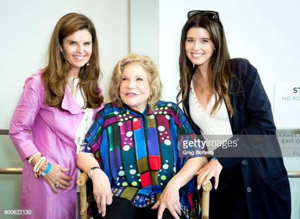 Journalist Maria Shriver Philanthropist Wallis Annenberg and Author Katherine Schwarzenegger attends the Grand Opening Celebration For The Wallis...