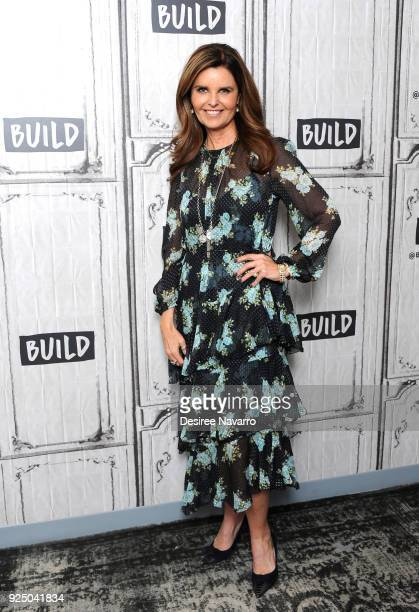 Journalist Maria Shriver visits Build Series to discuss her book 'I've Been Thinking' at Build Studio on February 27 2018 in New York City
