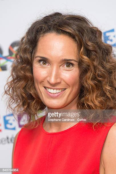 Journalist MarieSophie Lacarrau attends the France Television 2016/2017 Photocall on June 29 2016 in Paris France
