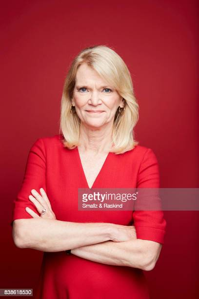 Journalist Martha Raddatz poses for portrait session at the 2017 Summer TCA session for National Geographic Channel's 'Long Road Home' on July 25...