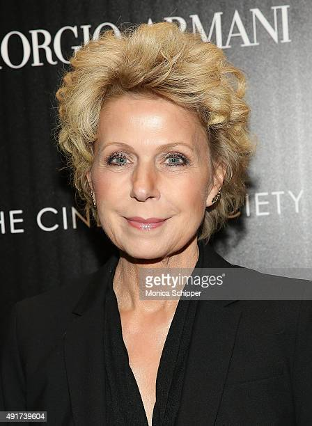 Journalist Mary Mapes attends the screening of Sony Pictures Classics' Truth hosted by Giorgio Armani and The Cinema Society at Museum of Modern Art...