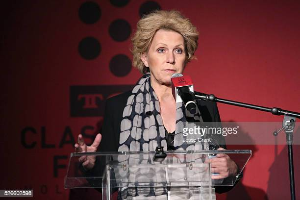 Journalist Mary Mapes speaks onstage at 'A Face in The Crowd' screening during day 3 of the TCM Classic Film Festival 2016 on April 30 2016 in Los...