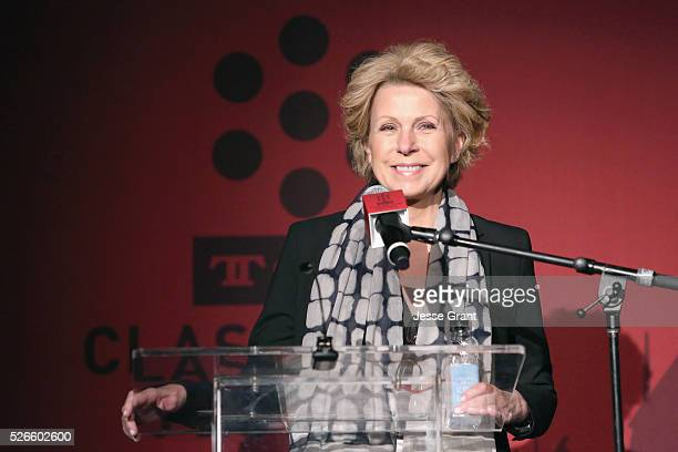 Journalist Mary Mapes speaks onstage at 'A Face in The Crowd' screening during day 3 of the TCM Classic Film Festival 2016 on April 30, 2016 in Los...