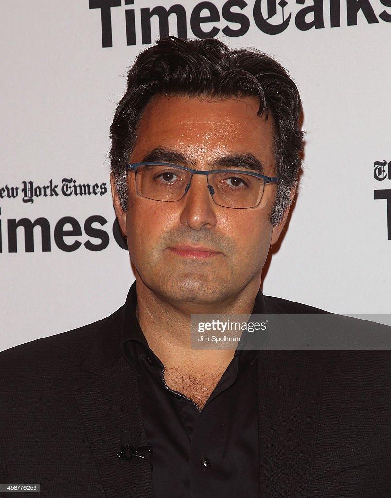 Journalist Maziar Bahari attends the TimesTalks with Jon Stewart and Maziar Bahari at TheTimesCenter on November 10, 2014 in New York City.
