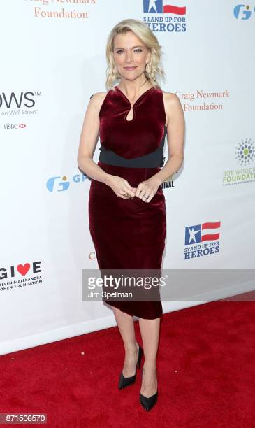 Journalist Megyn Kelly attends the 11th Annual Stand Up for Heroes at The Theater at Madison Square Garden on November 7 2017 in New York City