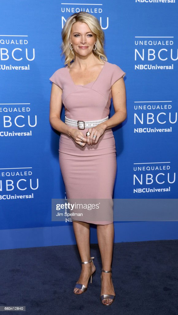 Journalist Megyn Kelly attends the 2017 NBCUniversal Upfront at Radio City Music Hall on May 15, 2017 in New York City.