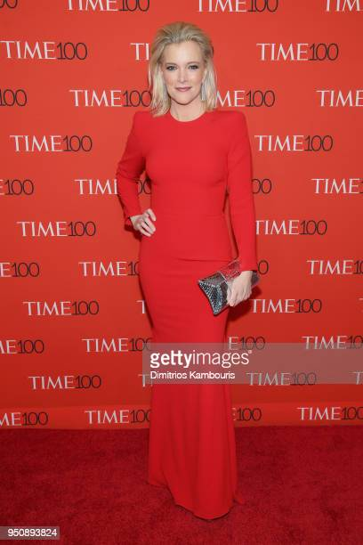 Journalist Megyn Kelly attends the 2018 Time 100 Gala at Jazz at Lincoln Center on April 24 2018 in New York City