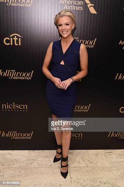 Journalist Megyn Kelly attends the Hollywood Reporter's 2016 35 Most Powerful People in Media at Four Seasons Restaurant on April 6 2016 in New York...