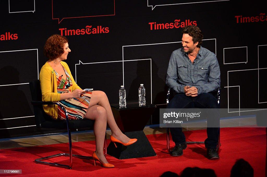 TimesTalks Presents: A Conversation With Mark Ruffalo : News Photo