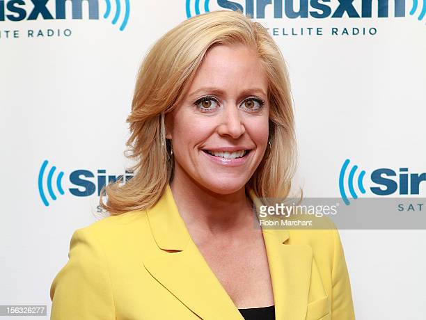 Journalist Melissa Francis visits the SiriusXM Studios on November 13 2012 in New York City