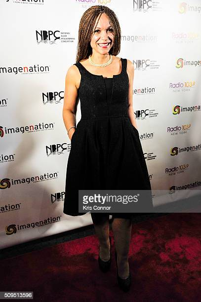 Journalist Melissa HarrisPerry and winner of the Revolution Award for Excellence in Journalism walks the red carpet the Revolution Awards presented...