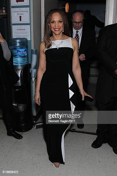 Journalist Melissa HarrisPerry attends BET Honors 2016 at Warner Theatre on March 5 2016 in Washington DC