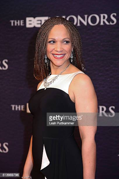 Journalist Melissa HarrisPerry attends the BET Honors 2016 at Warner Theatre on March 5 2016 in Washington DC