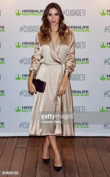 Journalist Melissa Jimenez attends the 'CuidaDeTi' presentation at Oscar hotel on November 23 2017 in Madrid Spain