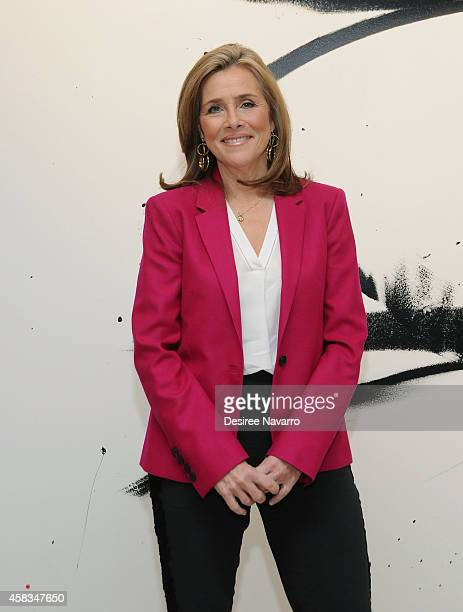 Journalist Meredith Vieira attends AOL's BUILD Speaker Series In Conversation With Meredith Vieira at AOL Studios In New York on November 3 2014 in...