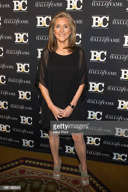 Journalist Meredith Vieira attends the Broadcasting and Cable 23rd Annual Hall of Fame Awards Dinner at The Waldorf Astoria on October 28 2013 in New...