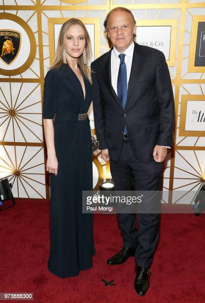 Journalist Michelle Kosinski and Mark Ein attend the Harvard Business School Club's 3rd Annual Leadership Gala Dinner at the Four Seasons Hotel on...