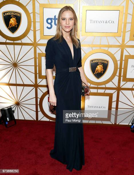 Journalist Michelle Kosinski attends the Harvard Business School Club's 3rd Annual Leadership Gala Dinner at the Four Seasons Hotel on June 13 2018...