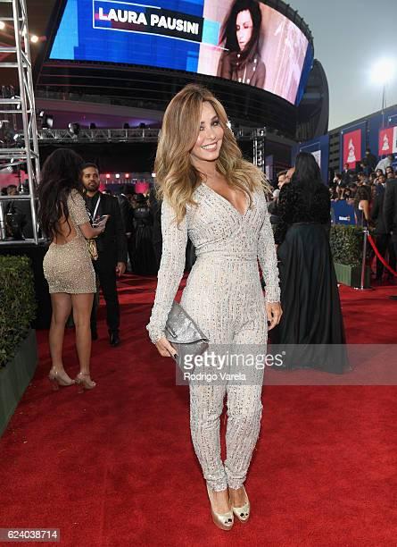 Journalist Myrka Dellanos attends The 17th Annual Latin Grammy Awards at TMobile Arena on November 17 2016 in Las Vegas Nevada