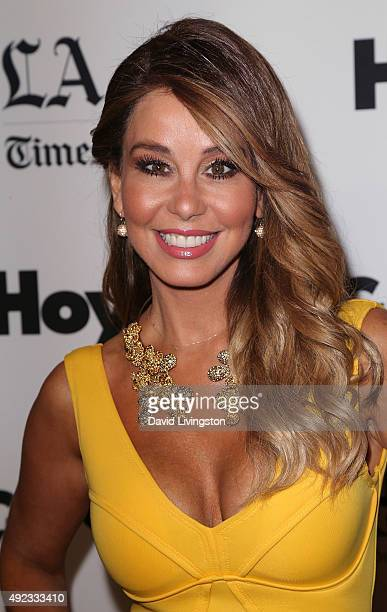 Journalist Myrka Dellanos attends the 2015 Latinos De Hoy Awards at the Dolby Theatre on October 11 2015 in Hollywood California