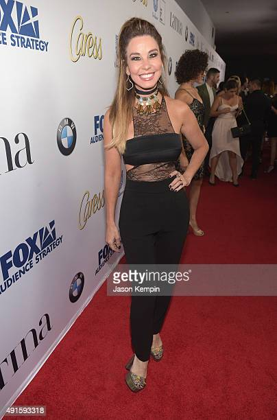 Journalist Myrka Dellanos attends the Latina Hot List Party hosted by Latina Media Ventures at The London West Hollywood on October 6 2015 in West...