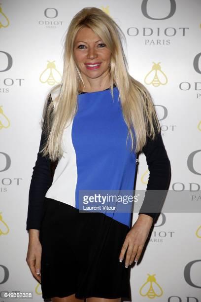 Journalist Nadine Rodd attend Dessiner L'Or et L'Argent Odiot Orfevre Exhibition Launch at Musee Des Arts Decoratifs on March 7 2017 in Paris France