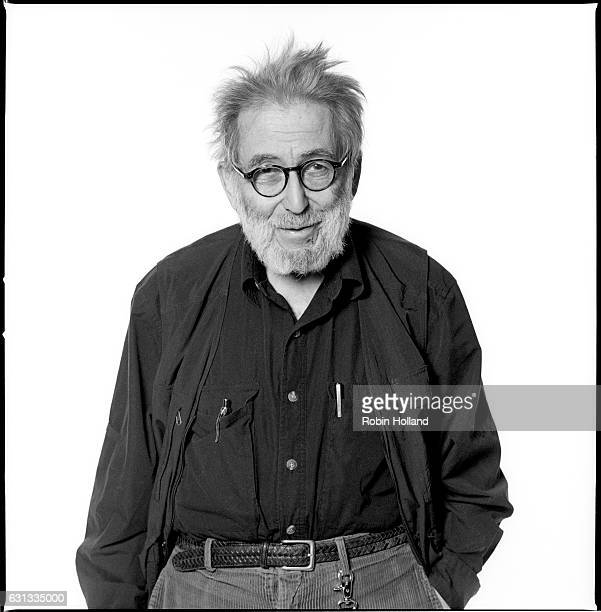Journalist Nat Hentoff photographed for the Village Voice in 2003 in New York City